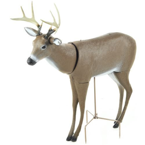 Lure in plenty of curious deer with the Primos Scarface Deer Decoy.