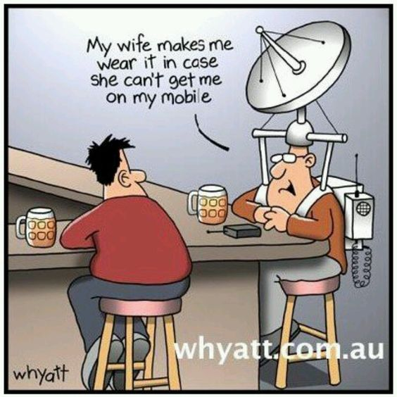 Trusting wife.