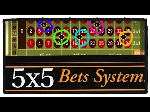 5x5 Roulette WIN tricks - YouTube | Roulette strategy, Roulette ...