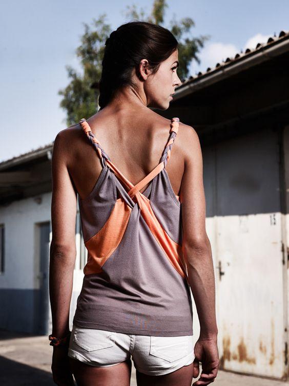 Streetwear - eisbörg Top Chupster nuss - ein Designerstück von eisboerg bei DaWanda