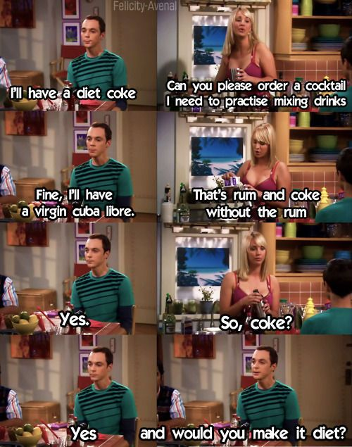How can you not love Sheldon?