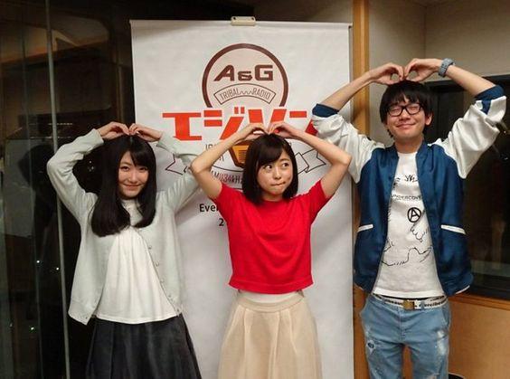 水瀬いのりさんと花江夏樹さんと日高里菜さん