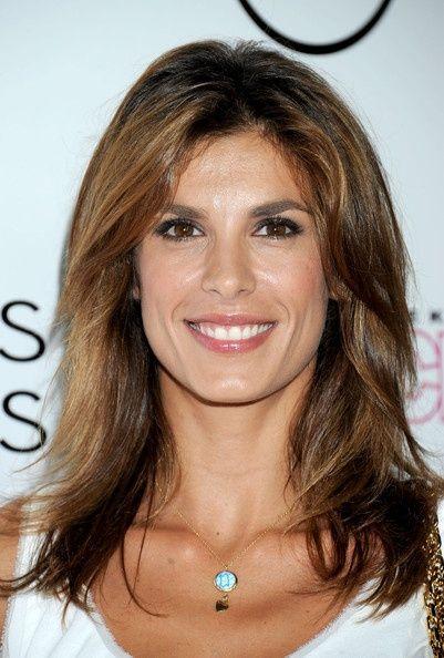 Elisabetta Canalis Hair my-style