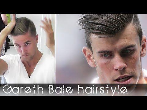 Gareth Bale Hairstyles Hair Styles Pinterest Gareth Bale And - Sergio aguero hairstyle tutorial