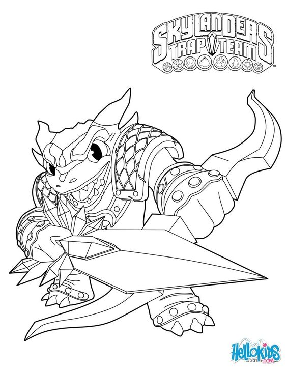 chaos skylanders coloring pages - photo#16