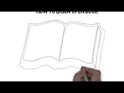 كيفية رسم كتاب مفتوح Recherche Google Nature Art Drawings Open Book Learn To Draw