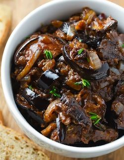 Eggplant caponata, Kitchen windows and Eggplants on Pinterest