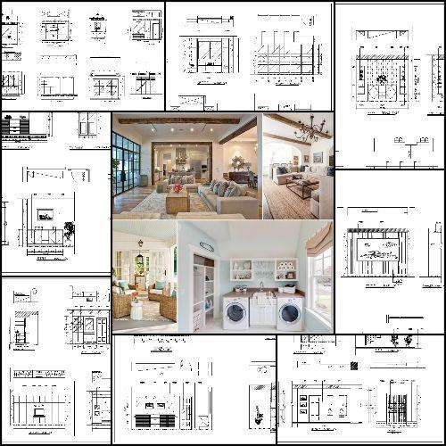 Pin On Interior Design Cad Design Details Elevation Collection Residential Building Living Room Bedroom Restroom Decoration Autocad Blocks Drawings Cad Details Elevation