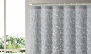 Groupon - Embroidered Shower Curtain in [missing {{location}} value]. Groupon deal price: $12.99