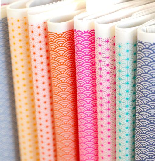 Jolis papiers japonais graphiques Adeline Klam #SalonCSF