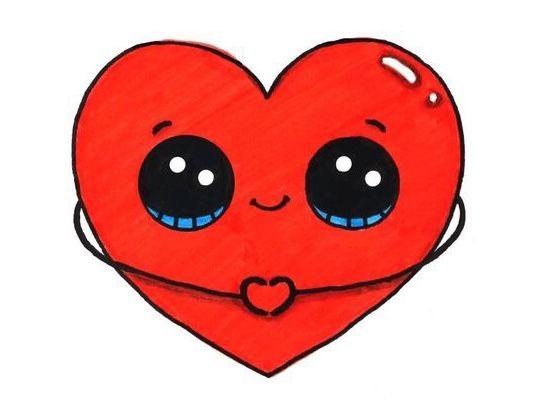 I Heart You 365 Dessins Kawaii Dessin Kawaii Princesse Et