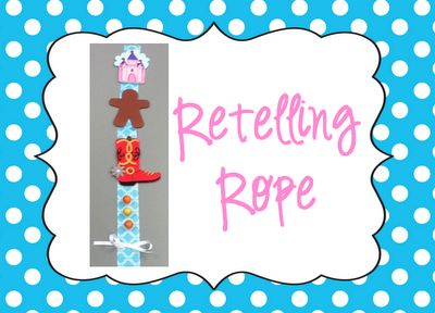 A retelling rope-another idea to make this summer