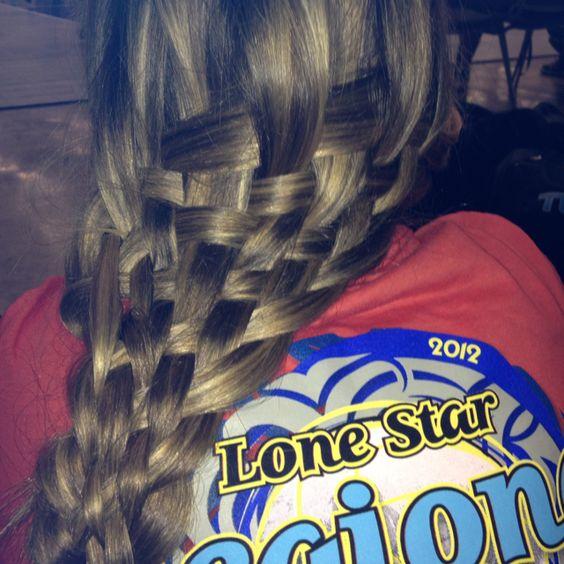 Gabby langton did my hair.(: