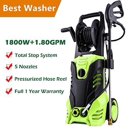 Meditool Pressure Washer 3000psi 1 80 Gpm 14 5 Amp Power Https Www Amazon Com Dp B07fqrkvs5 Ref C Pressure Washer Electric Pressure Washer Washer Cleaner