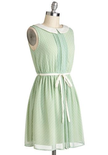 Pinch of Pistachio Dress, #ModCloth