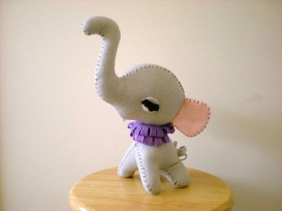 Dumbo Elephant by busybusyfingers on Etsy, $15.00