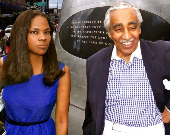 #sykesglobal (chief spokeswoman) on the campaign trail wth Congressman Rangel