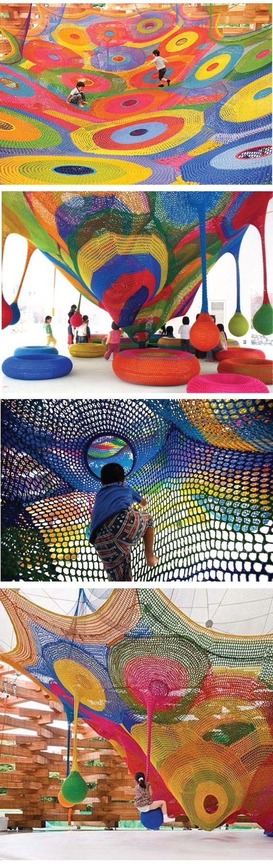 crochet play-gym anyone? :)
