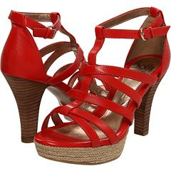Red Sofft Sandals!