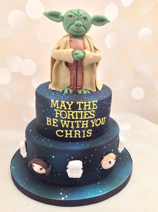 Astonishing Star Wars 40Th Birthday Cake Birthday Cake For Men Easy Personalised Birthday Cards Sponlily Jamesorg