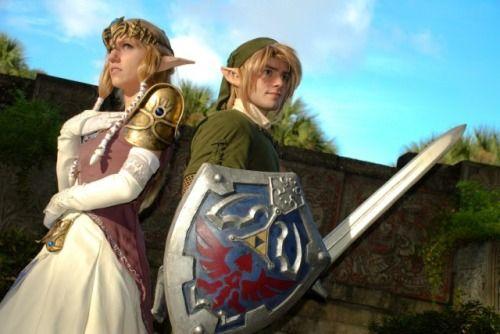 Link & Zelda - Legend Of Zelda: Twilight Princess