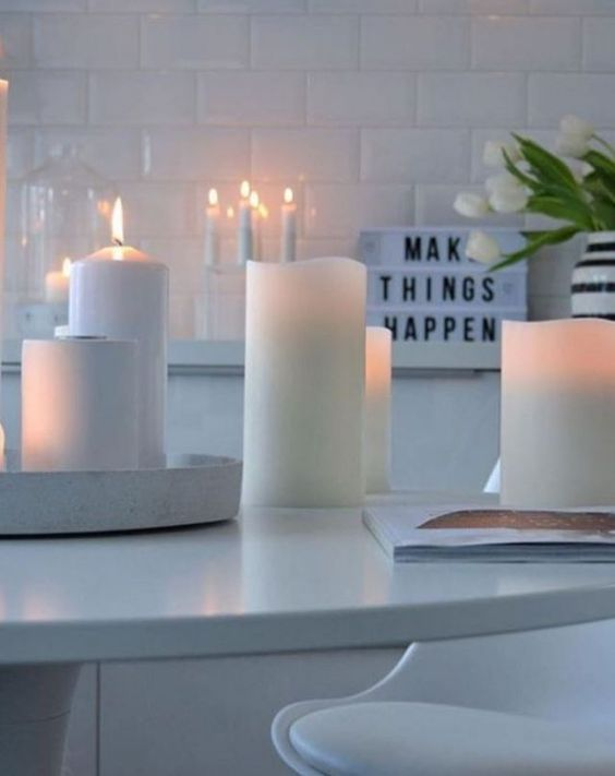 Flameless candles are just one thing you can get on Amazon for you dorm room.