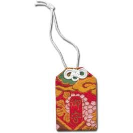 Red Dragon Omamori   Japanese Shinto Luck Charm