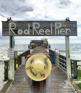Anna Maria Island #hat #sofrenchbynaty #rodreelpier #sarasota #florida #usa #pier #beach #ponton #mer #hat