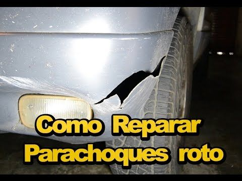 Como Reparar Parachoques Con Fibra De Vidrio Arreglar Golpe En El Coche Youtube Fibra De Vidrio Como Pintar Un Auto Reparar