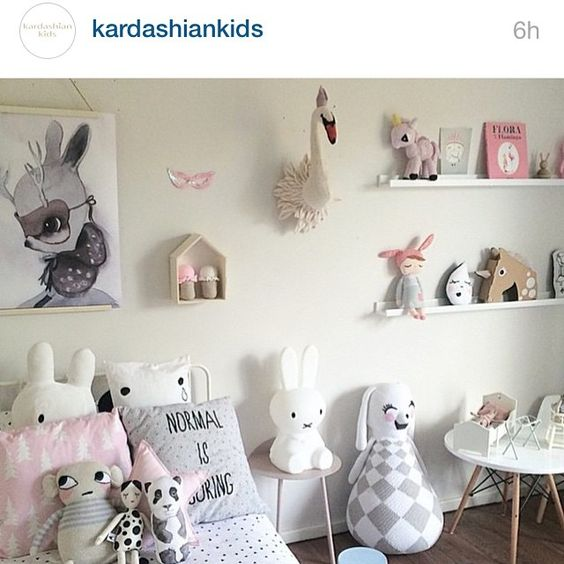Pretty cool to wake up to this being shared by @kardashiankids
