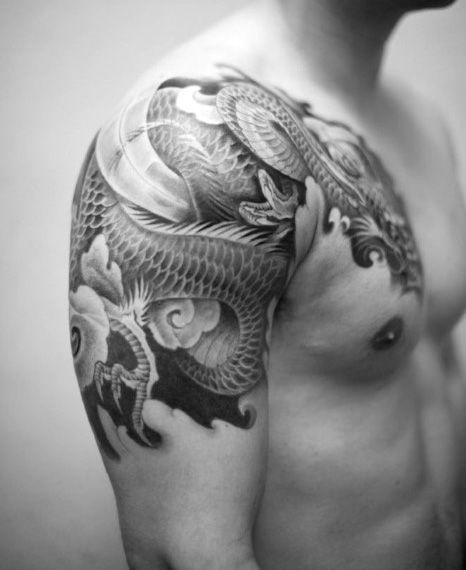 Men 39 s japanese sleeve tattoo designs jaw dropping tats for Hanzo tattoo sleeve