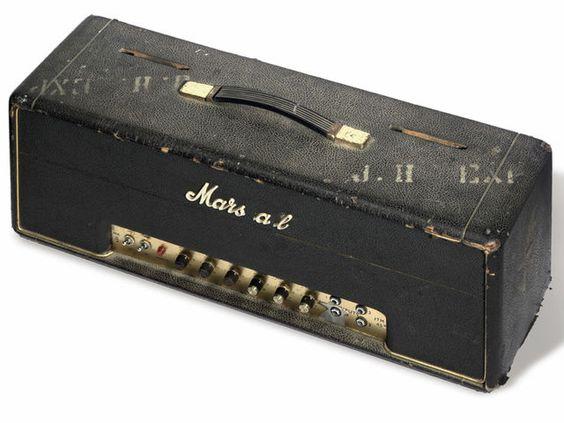 Jimi Hendrix's 1966 Marshall 100 Watt Super Lead