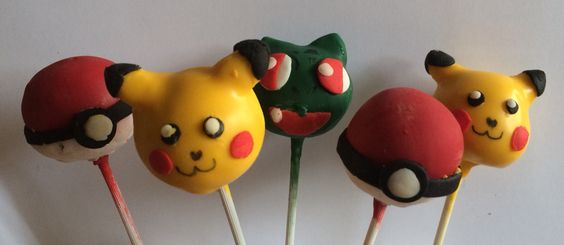 Pokemon cakepops