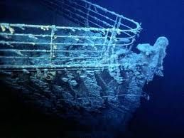 "To view in person the ""Titanic"""
