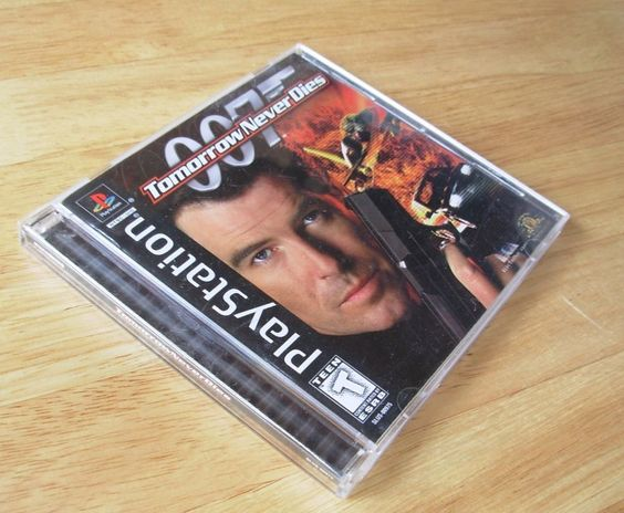 PLAYSTATION Black Label Game PS1 007 TOMORROW NEVER DIES 10 Missions Cool Moves