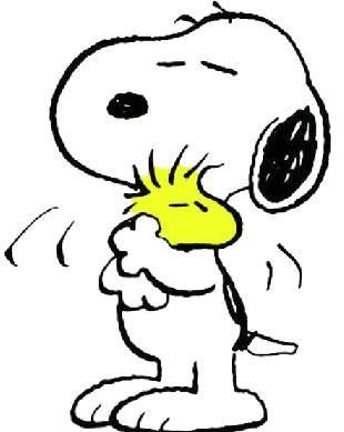 SNOOPY AND WOODSTOCK!!!!
