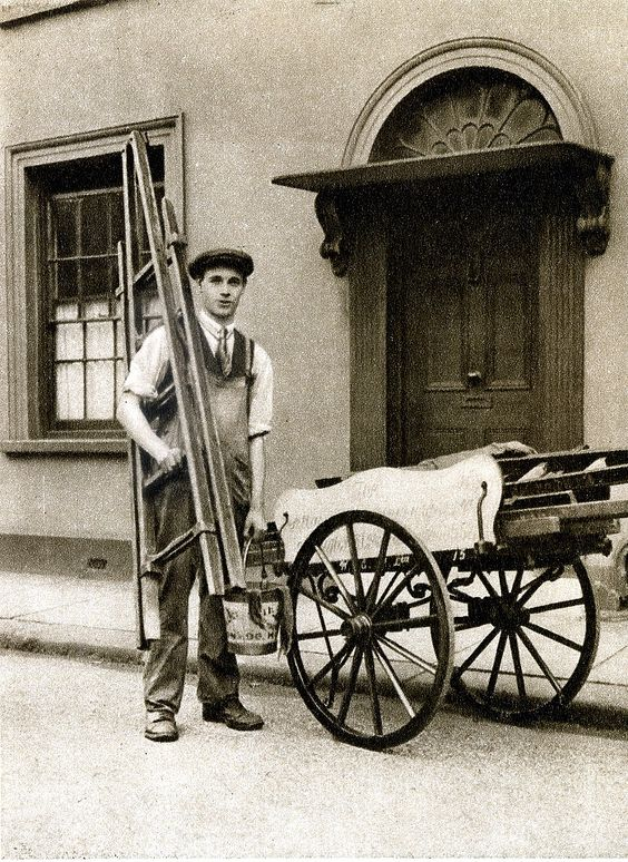 London in the 1920's-Islington window cleaner | Flickr - Photo Sharing!