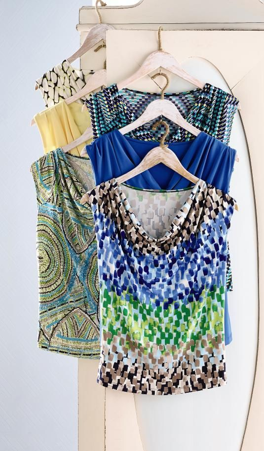 These drape neck tops are perfect for spring weather! #GoSpring #SteinMart