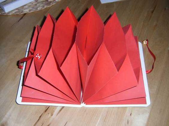 Fächermappe aus Briefumschlägen