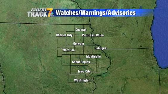 Weather Alerts - KWWL - Eastern Iowa Breaking News, Weather, Closings