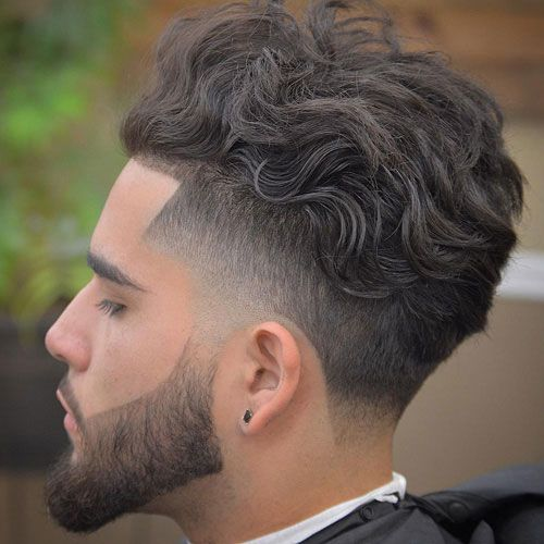 50 Best Wavy Hairstyles For Men Cool Haircuts For Wavy Hair 2020 Guide Wavy Hair Men Curly Hair Fade Taper Fade Haircut