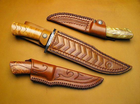 Sheathed Knives
