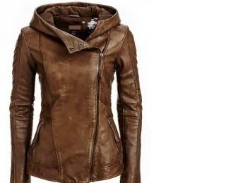 Arrow Women Brown Leather Jacket- love! | Fashion Inspiration