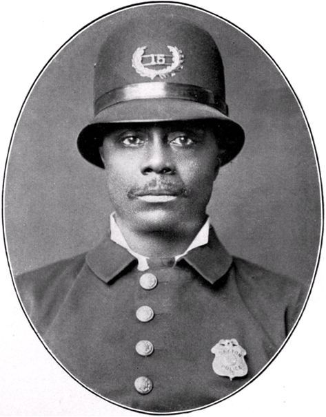 First African American Police Officer Of Dayton Police History Exhibit 2008 American History African History African American History