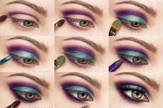 How to Do Makeup Like a Model #Makeup #MakeupTutorial #EyeMakeupTutorial