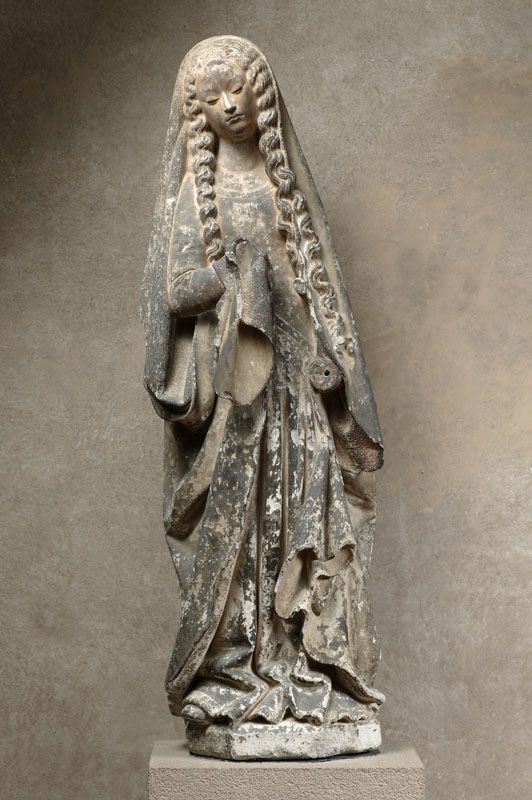 Sainte Marie Madeleine (calcaire, ~ 1401-1500) - Musée des Augustins - Photo Daniel Martin