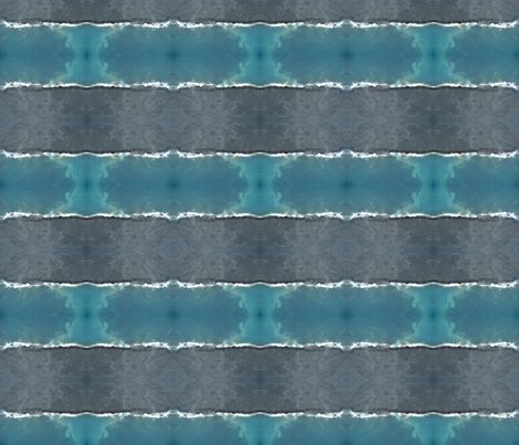 Hawaiian Shore Line Stripes fabric by ghennah on Spoonflower - custom fabric