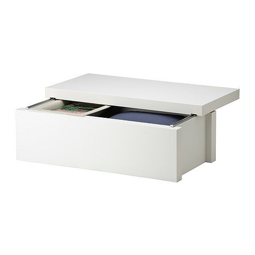 Table basse de rangement ikea for Ikea table basse carree