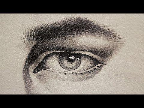 تعلم الرسم بالرصاص كيف ترسم عين وحواجب ورموش الرجل الفرق بين عين الرجل و عين المرأه للمبتدئين Youtube Instagram Photo Ideas Posts Art World Instagram