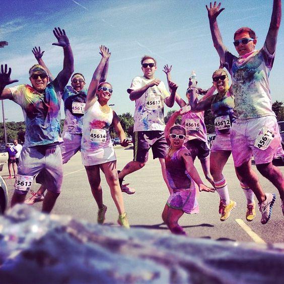 Kris Kross will make you jump, JUMP! #colormeradboston. Credit: instagram @tylerbahl